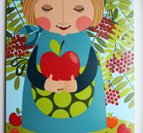 """skärbrädan """"Äppelgumman"""""""